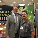Show-Me Chapter Delegate Mike Morris and NRCS Chief Jason Weller at the 2015 SWCS International Conference
